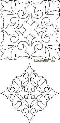 59 best ideas for motif quilting swirls Quilting Stencils, Quilting Templates, Machine Quilting Designs, Stencil Patterns, Stencil Designs, Longarm Quilting, Free Motion Quilting, Quilting Tips, Hand Quilting