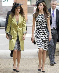 Kate Middleton at a friend's wedding on 11 06 2011