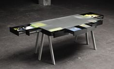 Treasury Table by Lucie Koldova