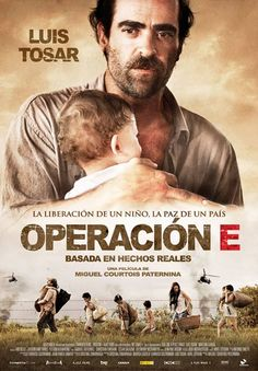 'Operación E' A woman kidnapped by the FARC gives birth to a boy in the middle of the Colombian jungle. The child is taken away from her and given to Crisanto, a humble farmer who survives in the middle of the jungle with his young wife, five children and his father-in-law, a healer. Crisanto is forced to care for the child under pain of death, but the boy is seriously ill. The family does everything possible to save its life...  http://www.elmulticine.com/carteles2.php?orden=31001#