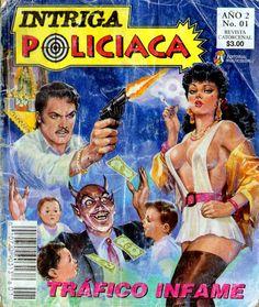 ¡Historietas Perversas!: Intriga Policiaca, No. 01