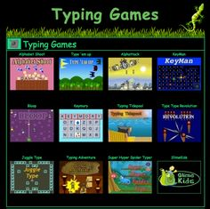Free learning computer keyboard typing games - Mexico - Complete a Typing Teaching Technology, Technology Integration, Educational Technology, Assistive Technology, Typing Skills, Typing Games, Typing Competition, Typing Master, Keyboard Lessons