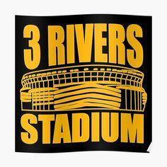 Pittsburgh Football, University Of Pittsburgh, Pittsburgh Pirates, Three Rivers Stadium, County Seat, City Limits, Pennsylvania, Penguins, Canvas Prints
