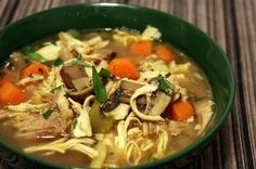 Fast and Easy Chicken Soup