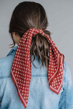 ways to wear a bandana in your hair, bandana hair style - My Style Vita