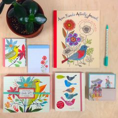 The Avian Friends collection is illustrated by internationally-acclaimed artist Geninne D. Zlatkis.  This exclusive giveaway contest includes the Avian Friends Activity Journal, Shaped Memo Pad, Pocket Planner, and Desk Set.