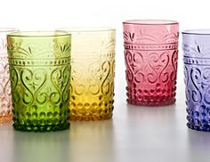 I pinned this from the Zafferano - Colorful Handmade Glassware from Italy event at Joss and Main!