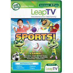 #LeapFrogWishList Sweepstakes -------------------------- LeapFrog LeapTV Sports! Educational, Active Video Game
