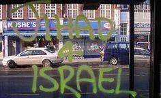 Anti-Semitic graffiti in London