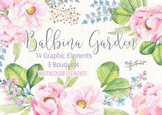 Balbina Garden by helloPAPER on @creativemarket