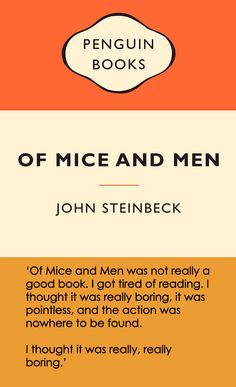 18 People Who Missed The Point Of Classic Novels -- This is very painful.