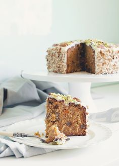 Amarula Carrot Cake (A Table For Two). Carrot cake soaked in Amarula! Cake Bars, Pie Cake, Sweet Recipes, Cake Recipes, Dessert Recipes, Delicious Desserts, Yummy Food, Moist Carrot Cakes, Gateaux Cake