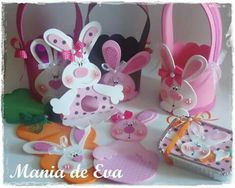 Pinterest Photos, Easter Crafts, Cupcake Cakes, Origami, Baby Shower, Education, Decorated Notebooks, Rabbits, Crochet Dolls