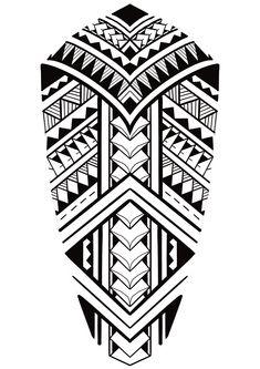Aztec Tattoos Sleeve, Tribal Back Tattoos, African Tribal Tattoos, Geometric Sleeve Tattoo, Band Tattoo Designs, Polynesian Tattoo Designs, Maori Tattoo Designs, Tattoo Maori Perna, Maori Tattoo Arm