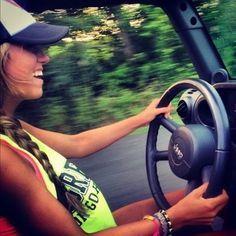 Only a jeep girl!