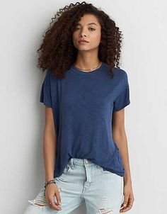 AEO Soft & Sexy Crew Favorite T-Shirt  - Buy One Get One 50% Off