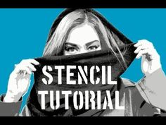 How To Make A Multi Layer Stencil! - How To Make A Multi Layer Stencil! After having so many request this video i finally decided to make a tutorial on how I do my stencils. If you guys have any questions i might be doing a Q&A s… Spray Paint Stencils, Large Stencils, How To Make Stencils, Letter Stencils, Graffiti Art, Stencil Graffiti, Stencil Painting, Stenciling, Deer Stencil