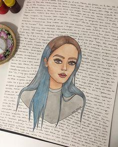 """20.4 mil curtidas, 155 comentários - Nath Araújo (@nanaths) no Instagram: """"fiz esse desenho de presente pra mim, pra enquadrar e colocar na sala da minha casa nova. No fundo…"""""""