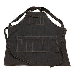 Новая Мода черный Хлопок Джинсовые Смешные Приготовления Пищи Фартук Работы…