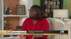 Comedian Sheryl Underwood stopped by The Hampton Roads Show