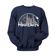 loveulikeafatkidluvcake:  Need Want Love!!!!!! $24.00 MuggleMart.com   Hogwarts Castle Blue Crewneck Sweatshirt. Hogwarts Castle Campus Harry Potter Book Inspired Hoodie Sweatshirt. Hogwarts sweatshirt Harry Pot