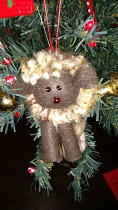 Check out this item in my Etsy shop https://www.etsy.com/listing/482414558/sheep-ornament-christmas-tree-decor-gift
