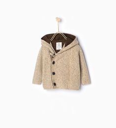 Image 1 of Cardigan with toggles from Zara