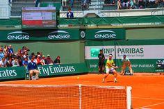 Ferrer vs Cilic in the 2015 Roland Garros