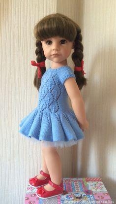 Нарядное платье для кукол Готц (2) / Одежда для кукол / Шопик. Продать купить куклу / Бэйбики. Куклы фото. Одежда для кукол