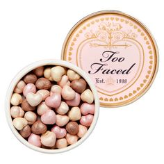 Highlight Hearts// TOO FACED pinterest | @heartyyx
