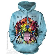 Dog Is Love Golden Retriever Hoodie