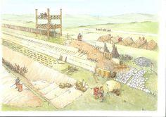 The Antonine Wall - Roman wall between England and Scotland