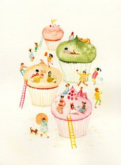 5 Incredibly Charming Illustrations Of Comfort Food