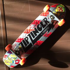 Zipzinger signed by Tommy Guerrero. Personal collection