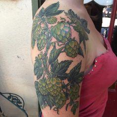 barley and hops tattoo - Google Search