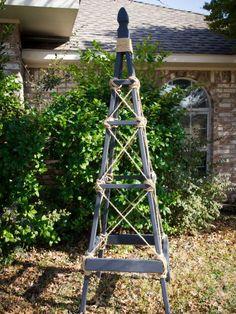How to Build a Garden Obelisk --> http://www.hgtvgardens.com/diy-garden-projects/how-to-make-a-garden-obelisk?soc=pinterest