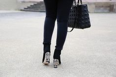 Dolce & Gabbana Ankle Boots & Lady Dior Bag