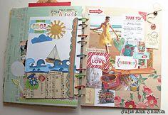 Art Journaling 101: Visual Journaling Focus   Studio Tangie