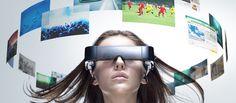 Epson Moviero, augmented reality, futuristic gadget