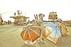 Florentine Umbrellas by Sivan Askayo on Artfully Walls