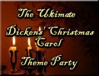 Dickens Christmas Carol Theme Party Ideas - perfect for a Dickens style or Victorian Christmas party Old World Christmas, Victorian Christmas, Kids Christmas, Muppets Christmas, Christmas 2016, Xmas, Christmas Dinner Themes, Christmas Traditions, Dickens Christmas Carol