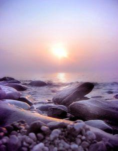 Beautiful Lilac Sunset