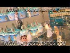 Bautizo  turqueza con perla - realizado por MARKOS EVENTOS