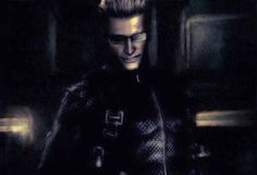 I'm curious about what he's thinking that is so amusing to him. Uncle Albert, Albert Wesker, Leon S Kennedy, Resident Evil 5, Jill Valentine, Best Games, Squad, Video Game, Crushes