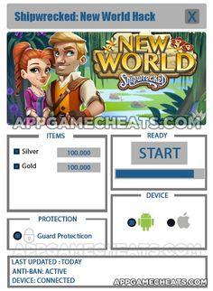 Shipwrecked New World Hack, Cheats, & Tips for Silver & Gold  #Adventure #ShipwreckedNewWorld #Strategy http://appgamecheats.com/shipwrecked-new-world-hack-cheats-tips/