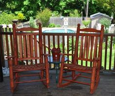 Merveilleux Oak Rocking Chairs From Cypress Moon!