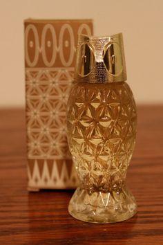 Retro Owl Miniature Cologne Bottle by Avon. $7.00, via Etsy.