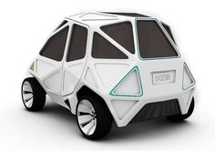 Jewel-Cut Concept Cars - The EXO NURBS Vehicle Revisits Dymaxion Design for Superior Strength (GALLERY)
