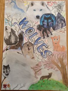 My front cover for my art GCSE work