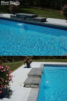 Considering a fiberglass pool for your backyard? Here is everything you need to know to get started! #ingroundpools #fiberglasspools #swimmingpools Fiberglass Pool Installation, Metal Wall Panel, Fiberglass Swimming Pools, Concrete Pool, Luxury Pools, Pool Water, Water Systems, Pool Landscaping, In Ground Pools